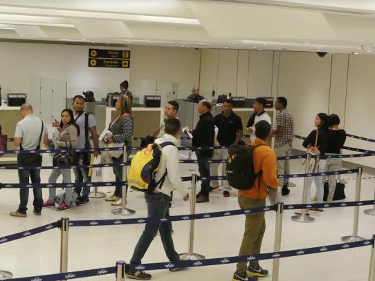 Más de 82 mil viajeros pasaron por Panamá del 20 al 24 de diciembre
