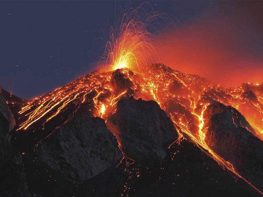 Un volcán gigante podría acabar con la vida tal como la conocemos
