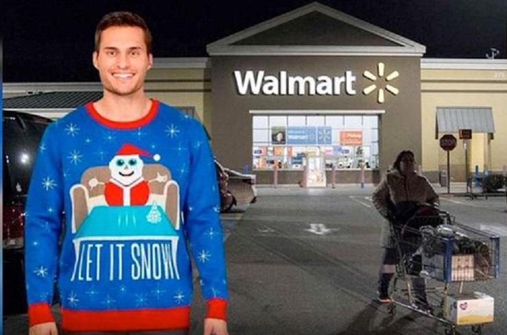 Colombia demandará a Walmart por promoción de suéter de Santa Claus con cocaína