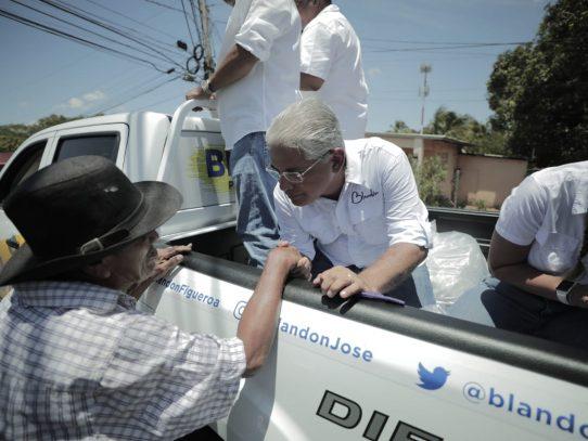 Blandón culmina el recorrido de mil kilómetros en Coclé