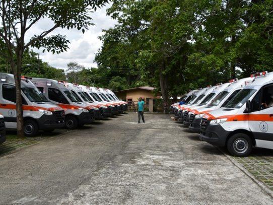 CSS recibe las primeras 43 ambulancias de soporte vital avanzado y básico