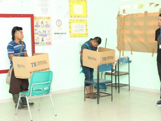 Inician elecciones parciales en la Comarca Ngäbe-Buglé