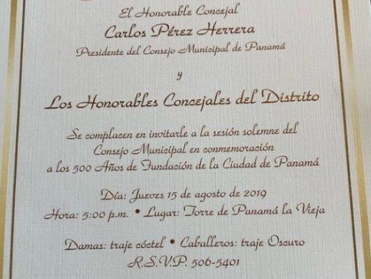 Expresidente Martinelli asistirá a los actos de 500 años de fundación de la Ciudad de Panamá