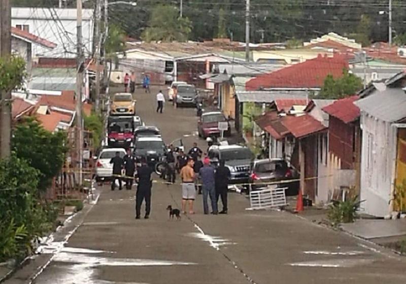 Decapitan a un hombre en Calle 14, Villa Lucre