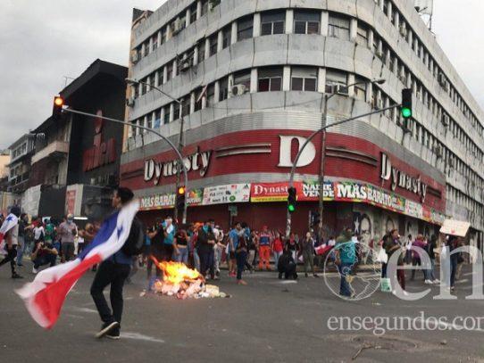 Se reactivan las protestas en la Asamblea Nacional