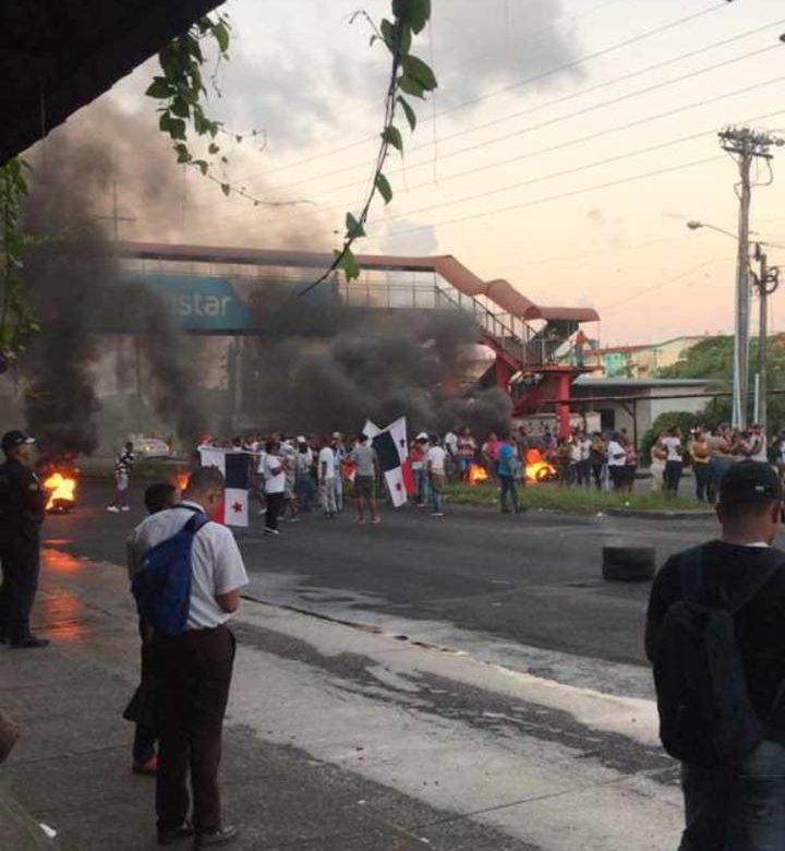 """Ejecutivo dice que """"no permitirá protestas que alteren el orden en Colón"""""""