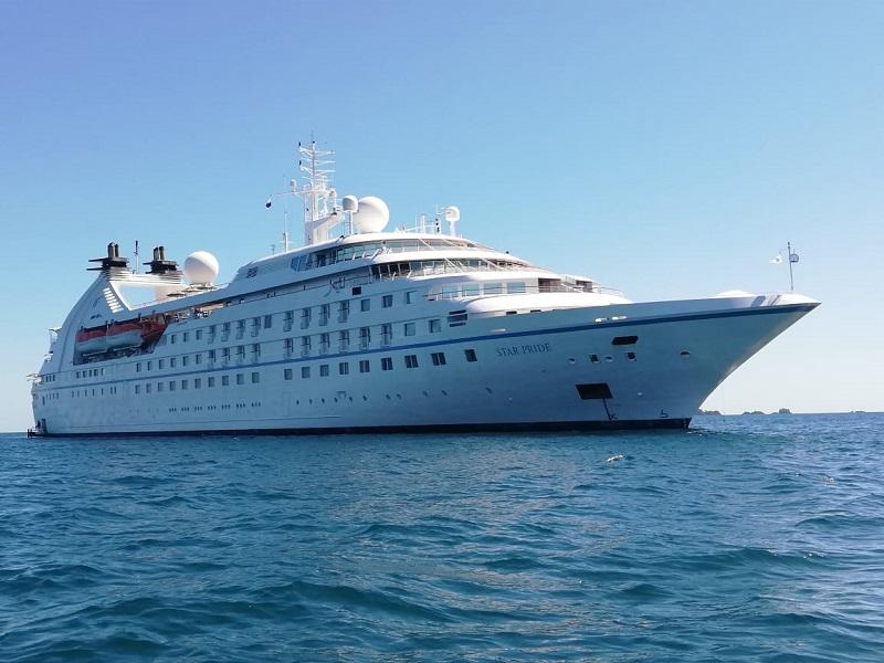 Parque Nacional Marino Golfo de Chiriquí recibe cruceros