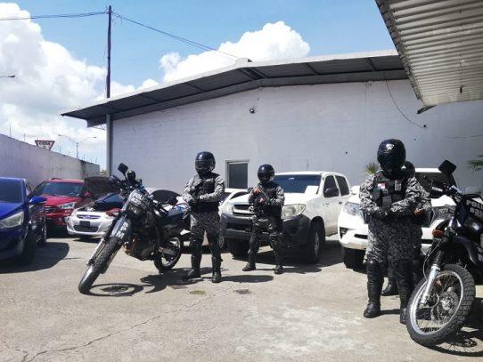 Tres detenidos y seis autos recuperados en operación de la DIJ
