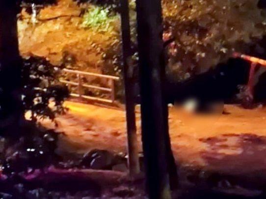 Encuentran a un hombre ejecutado en La Chorrera