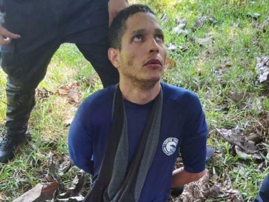 Recapturan a Ventura Ceballos en El Salao, en Chiriquí