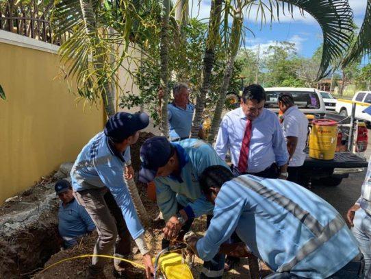 Idaan asegura continuidad de plan de acción para abastecimiento de agua potable