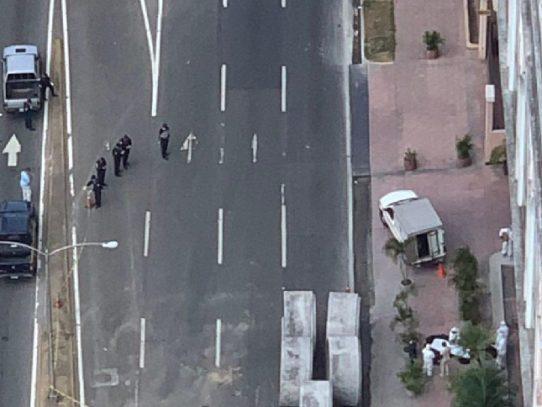 Un hombre muere al caer de un edificio en Avenida Balboa