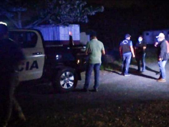 Triple homicidio en El Chumical en Arraiján