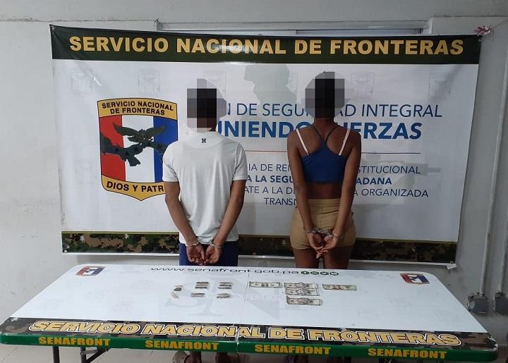 Aprehenden a dos personas con droga en Chepo