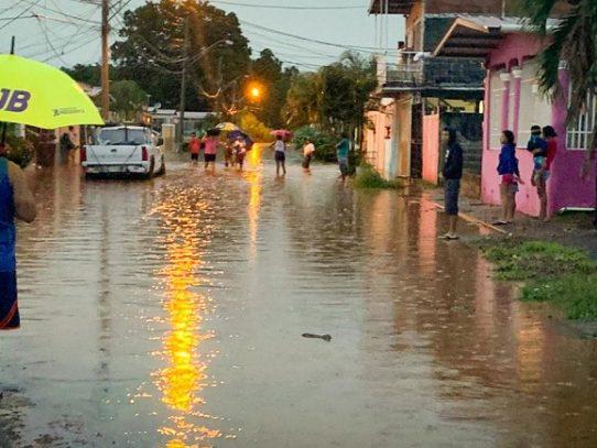 Varios puntos del país afectados por la fuerte lluvia