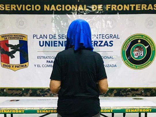 Detienen a una extranjera por venta sustancia ilícita en Chiriquí