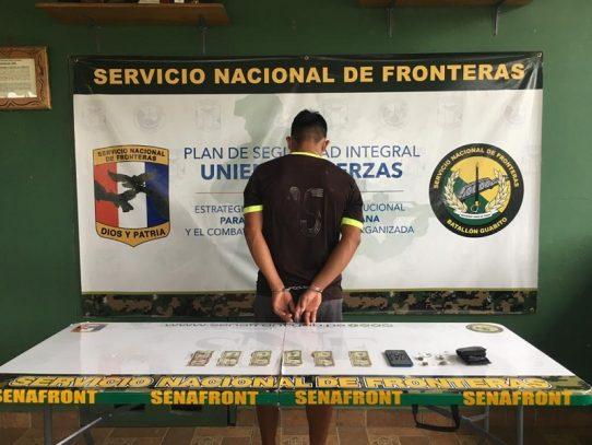 Un hombre aprehendido por supuesta venta de droga en Bocas del Toro