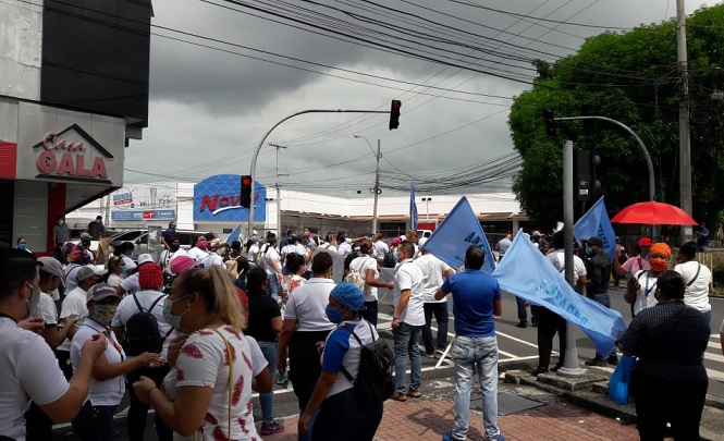 La ONU reafirma el derecho a manifestarse de manera pacífica