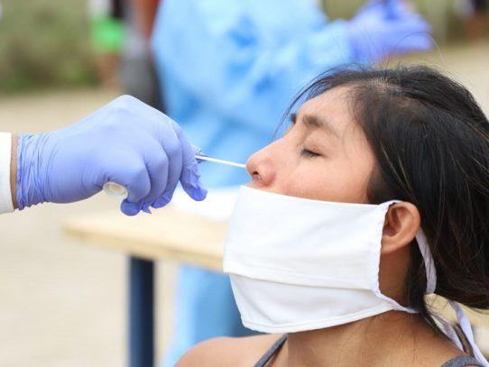 Muestreo comunitario  en Arraiján, identifica 98 casos nuevos de positivos asintomáticos