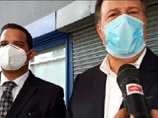 """Expresidente Varela: """"Soy un hombre de dar la cara, no de salir corriendo"""""""