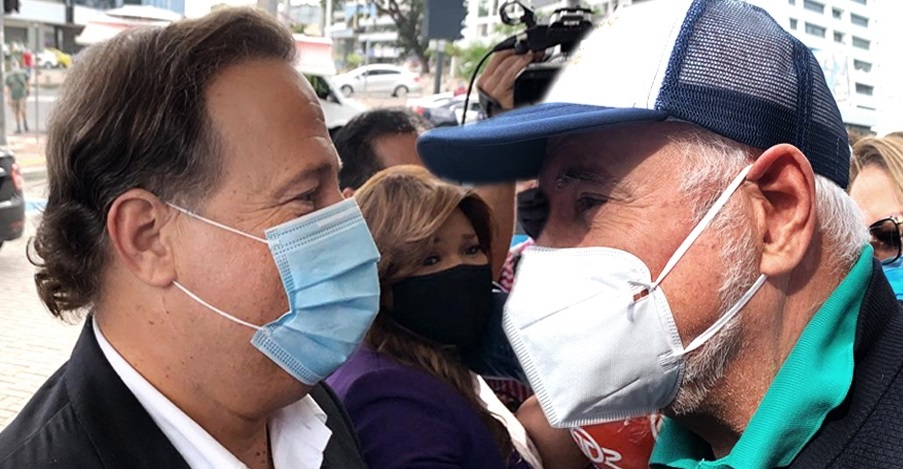 Martinelli y Varela llegan al mismo tiempo a rendir indagatorias a la Fiscalía Anticorrupción