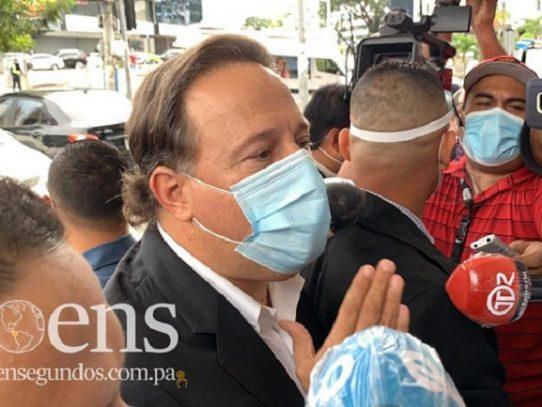 Impedimento de salida del país y reporte periódico para expresidente Varela