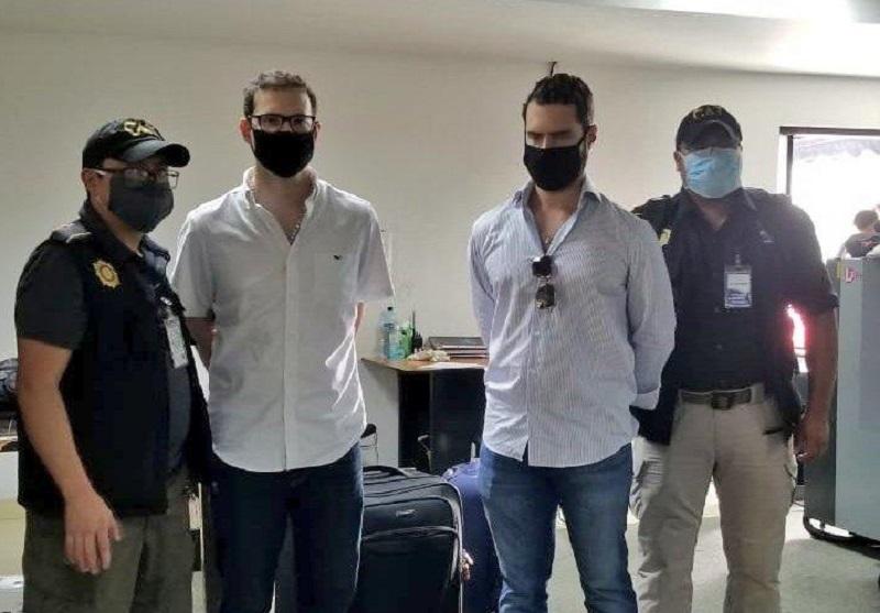 Hermanos Martinelli Linares enfrentarán audiencia en Guatemala