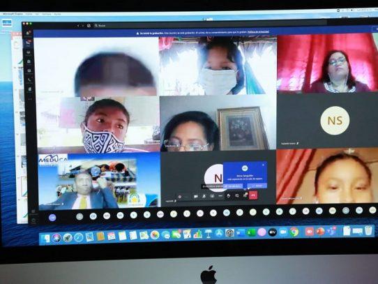 Más de 600 estudiantes de la comarca Guna Yala recibirán clases virtuales
