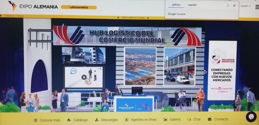 Zona Libre de Colón destaca en Expo Virtual Alemania - Latinoamérica