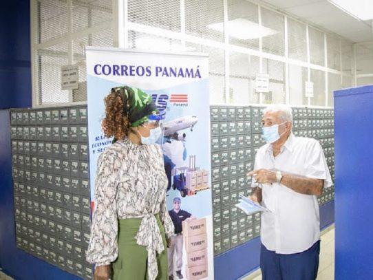 Viceministra de Gobierno resalta labor que realiza Correos de Panamá