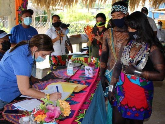 Periodo escolar en la Comarca Emberá Wounaan iniciará por módulos