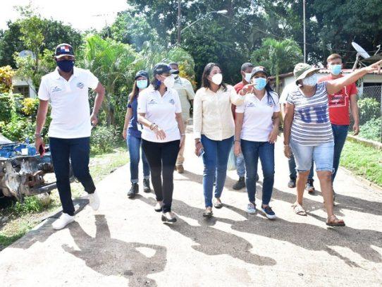 Ministra María Inés Castillo realiza gira de trabajo en Arraiján y La Chorrera