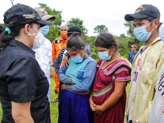 MIDES moviliza ayuda social para afectados por el desbordamiento del Río Bejuco
