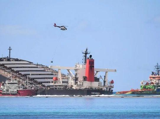 Autoridad Marítima de Panamá lamenta accidente de la nave japonesa Wakashio en Mauricio