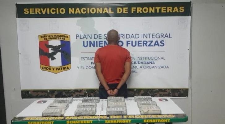 Decomisan 12 paquetes con droga en Chepo