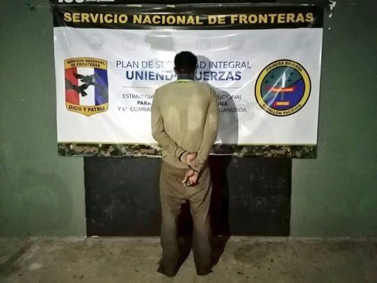 Capturan en Darién a un colombiano requerido por las autoridades