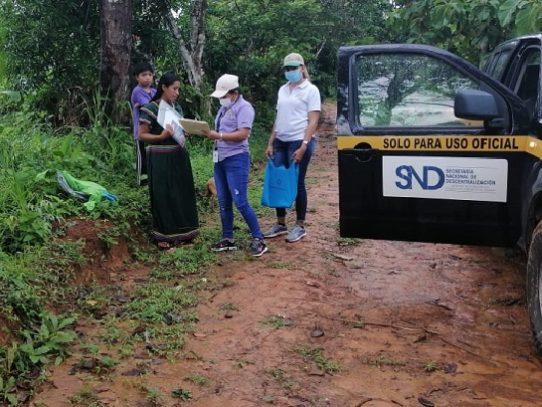 Panamá Solidario lleva bolsas de comida y bono a miles de familias en Chiriquí