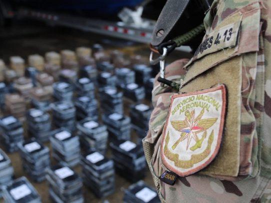Fuerza Púbica ha incautado al menos 2 mil 800 paquetes de sustancia ilícita
