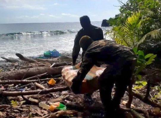 Incautan 785 paquetes con droga en Chepigana, Darién