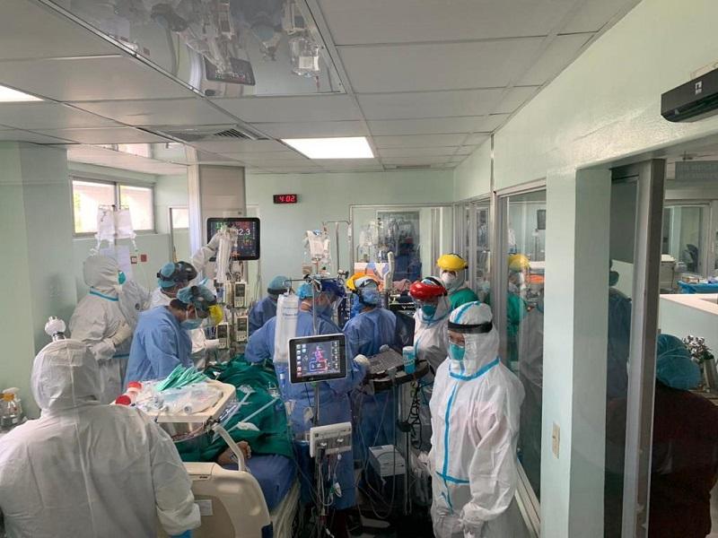 CSS y Minsa ponen en marcha la tecnología ECMO para pacientes con Covid-19