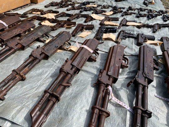 Destruyen mil 228 armas en Chiriquí