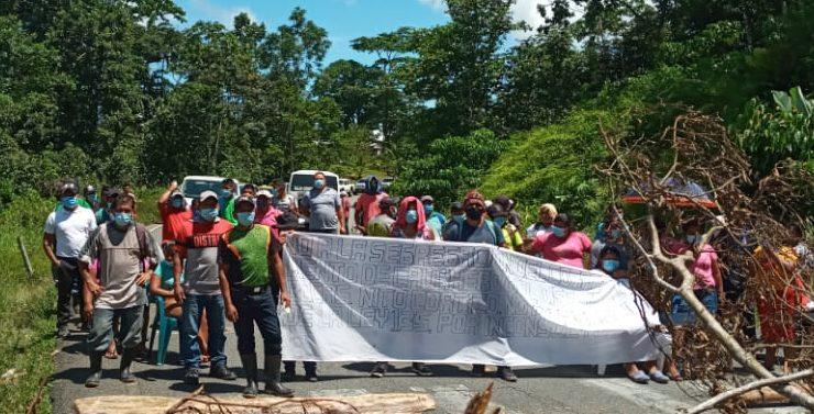 El destierro de Cauchero, el corregimiento CD de Bocas del Toro