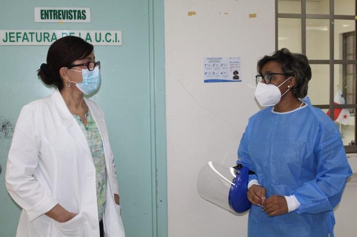 Minsa suple de equipo de protección personal al Hospital Santo Tomás