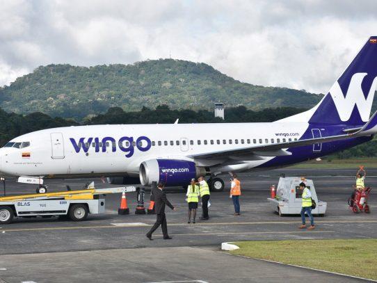 Wingo operará vuelos entre Panamá Pacífico y Lima a partir de abril