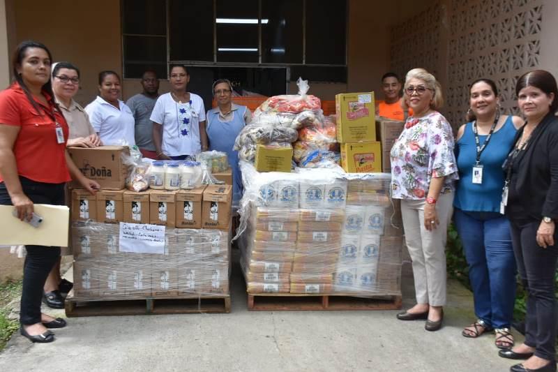 Hogar Bolívar de Ancianos recibe más de seis toneladas de alimentos