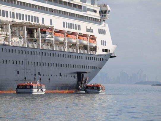 Canal de Panamá permitirá el tránsito del crucero Zaandam