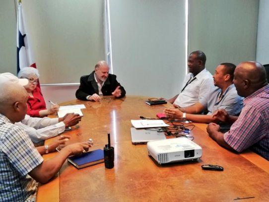La ZLC y Canatra conversan sobre seguridad y transporte de pasajeros a lo interno de la zona franca